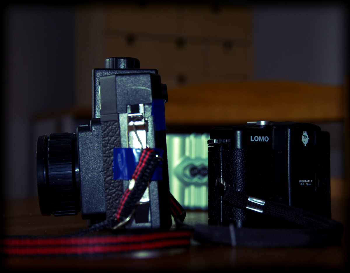 A Holga, An Action Sampler and a LC-A+ oh my...